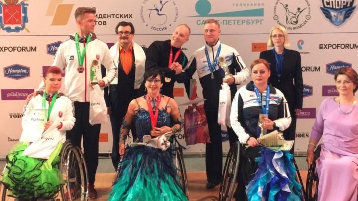 Тюменцы взяли золото на Кубке Континентов по танцам на инвалидных колясках