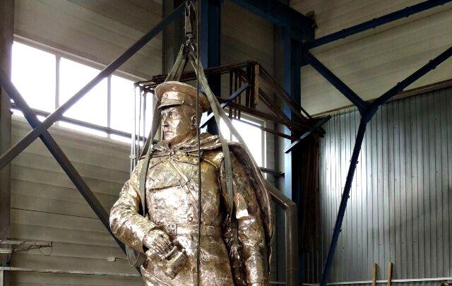 На берегу тюменского озера появится четырёхметровый памятник герою СССР Ивану Федюнинскому