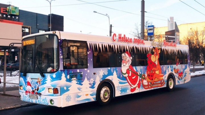 На рейсы вышли волшебные автобус и трамвай: смотрим фото