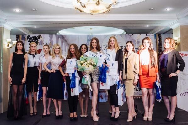 Участницы регионального этапа «Мисс офис – 2017»