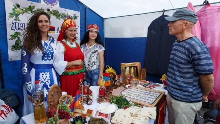 Национальные диаспоры рассказали о себе волгоградцам едой и культурой