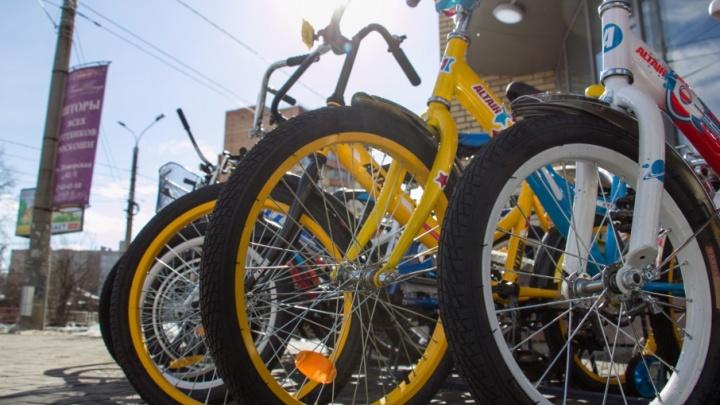 Велосипедного вора поймали полицейские в столице Поморья