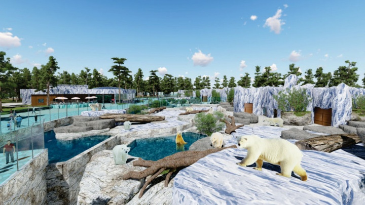 Строители нового пермского зоопарка отстают от графика на 133 дня