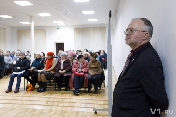 Главный архитектор Волгограда сам пришел показывать презентации