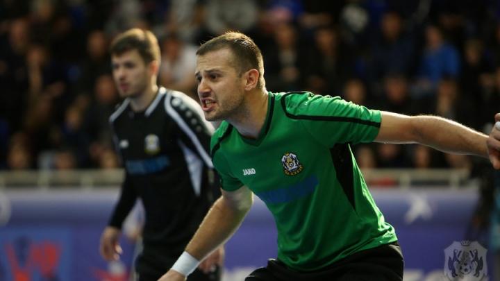Голкипер мини-футбольного клуба «Тюмень» Миодраг Аксентиевич претендует на звание «Лучший вратарь мира»