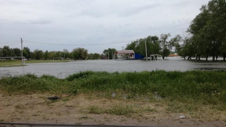 В Ростовской области затопило несколько районов