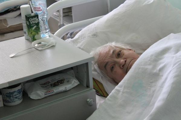 На этой неделе пенсионерку выпишут из больницы, она отправится в дом престарелых
