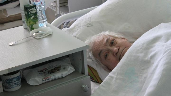 Старушку, которую якобы облили кипятком, выпишут из больницы на следующей неделе