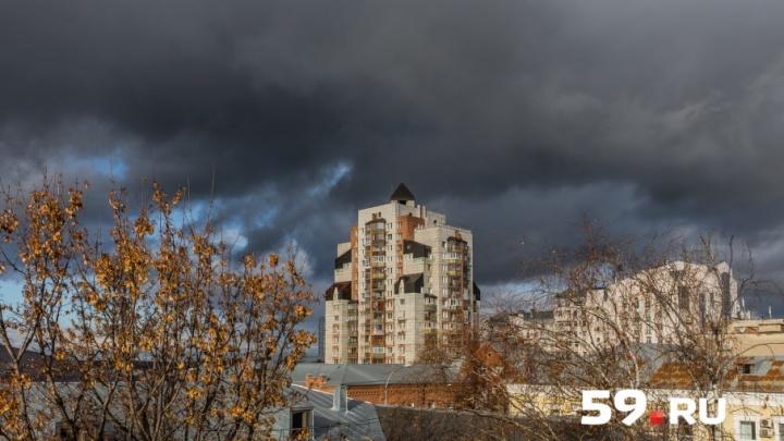 «Будет самый ветреный день в этом году»: на Пермь надвигается циклон с порывами до 20 м/с