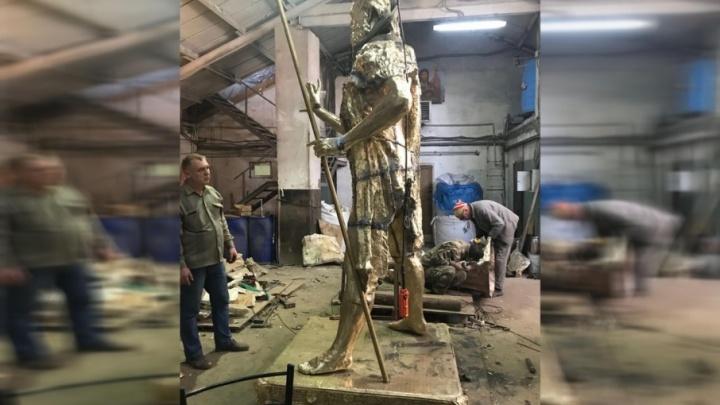 Памятник Иоанну Крестителю, изготовленный донским скульптором, установят на Алтае