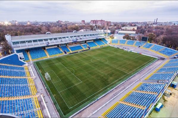 Вокруг стадиона «Олимп-2» появятся новые деревья, газоны и площадки