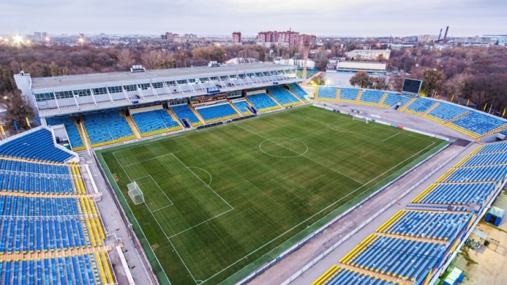 Территорию вокруг ростовских стадионов благоустроят к середине мая
