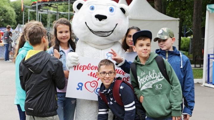 Пермские первоклассники отметили начало учёбы мороженым и весёлыми покатушками