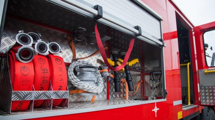 В Каргопольском районе местный житель спас дом от пожара во время грозы