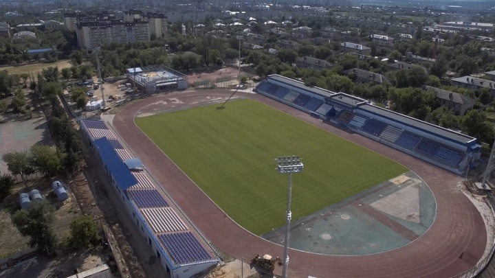 В Волгограде срывается график реконструкции стадиона «Зенит»