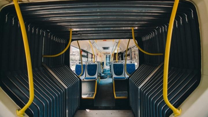 Автобусы-гармошки начнут реже ездить по Тюмени в выходные