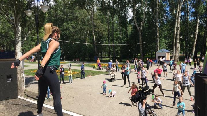 «Жить здорово»: пермяков приглашают в парки на день здоровья