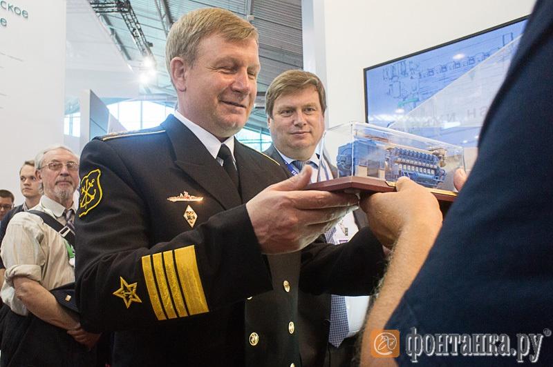 Виктор Чирков, командующий ВМФ России