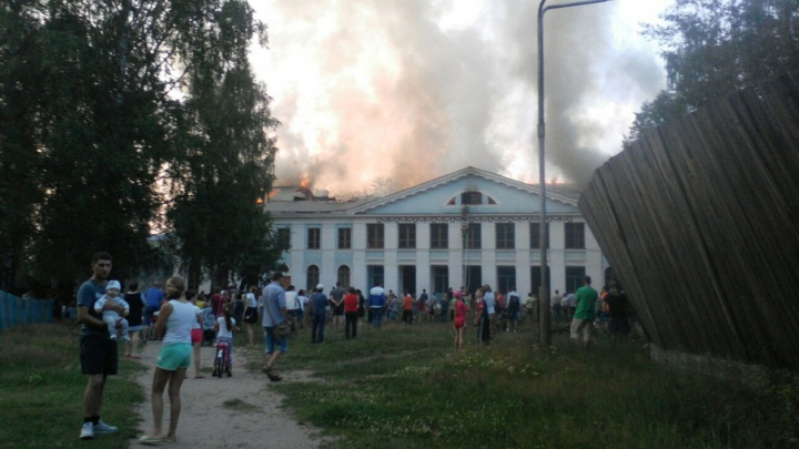 Сгоревший в Красновишерске ДК восстановят за 35 миллионов