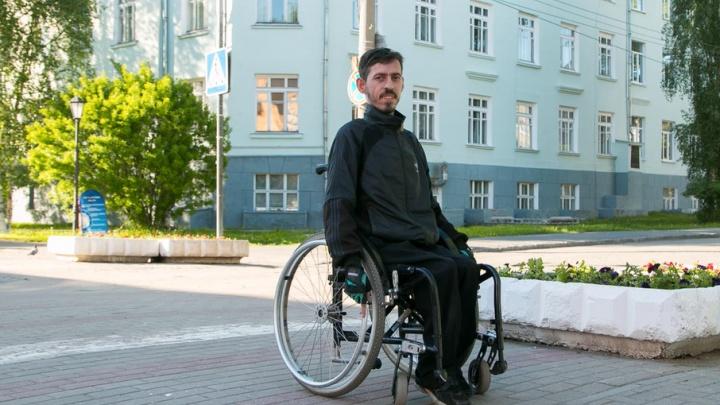 «Чиновники, проживите день в коляске»: тест-драйв Архангельска от инвалида 1-й группы