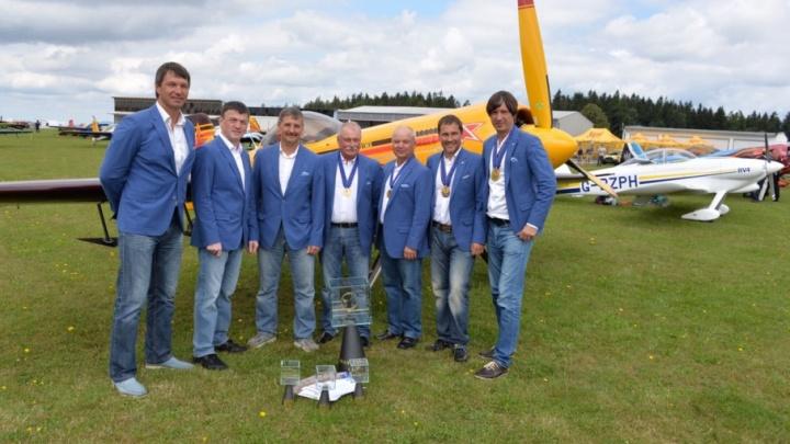 Пермяки в составе сборной России победили на чемпионате по высшему пилотажу