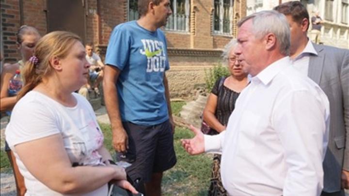 Жители ростовских многоэтажек в зоне ЧС возвращаются в свои квартиры