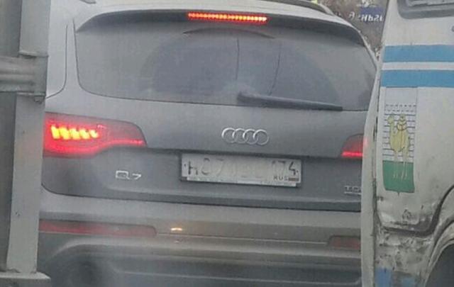 В Челябинске появились авто со «слепыми» номерами: что грозит за потёртый знак