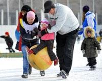 200 семей работников ЧМК побывали на «Снежной карусели – 2012»