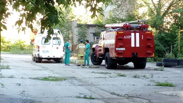 В Самаре произошло возгорание одного из зданий Дома печати