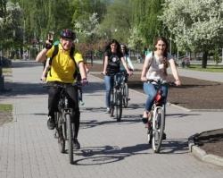 Сотрудники Сбербанка присоединились к акции «На работу на велосипеде»