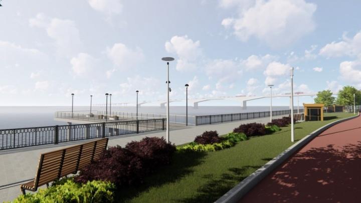 Лаунж-зона, амфитеатр и круглое-кафе: рассказываем о проекте реконструкции пермской набережной