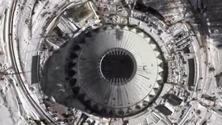 Космический парад: испанский спутник снял «Самара Арену» и 11 стадионов мундиаля