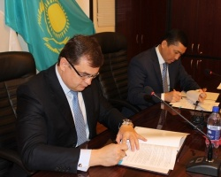 Ростсельмаш заключил сотрудничество с «Казагрофинанс»