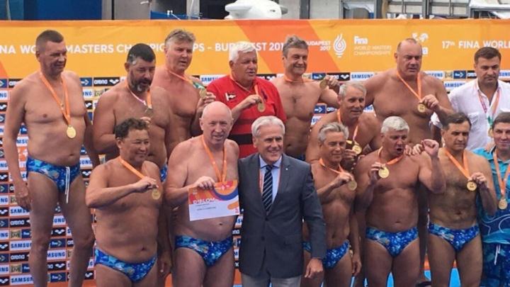 Для тех кому за: челябинец стал чемпионом мира по водному поло среди ветеранов