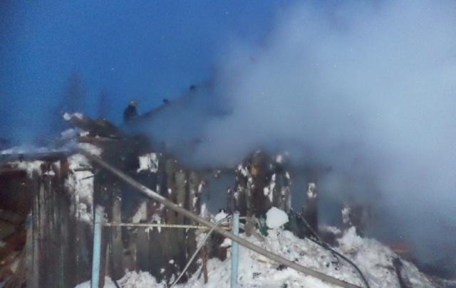 В Ярославской области в пожаре погибла женщина