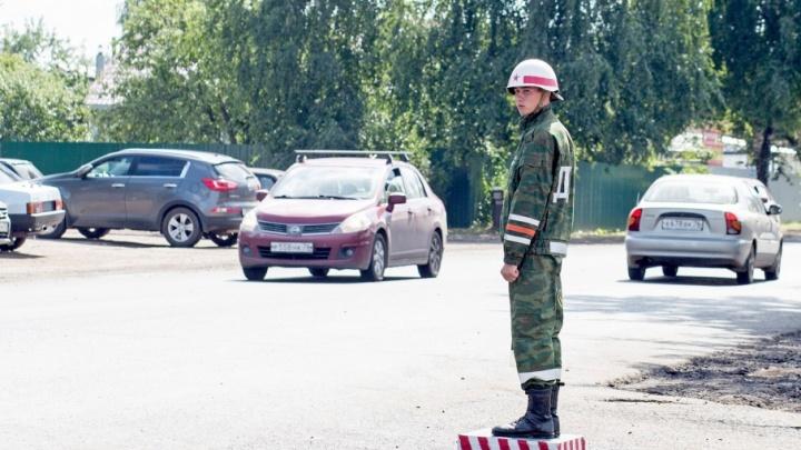 За ярославскими водителями будут следить военные регулировщики
