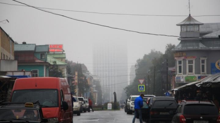 Архангельск превратился в Сайлент Хилл: завораживающие фотографии туманного города