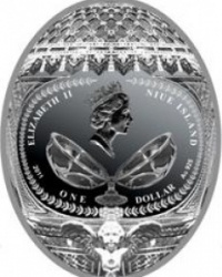 Северный банк Сбербанка РФ предлагает драгоценные монеты в форме яйца