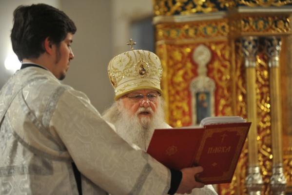 Праздничное богослужение в Успенском соборе