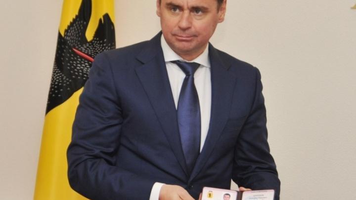 Дмитрий Миронов получил «корочки» губернатора