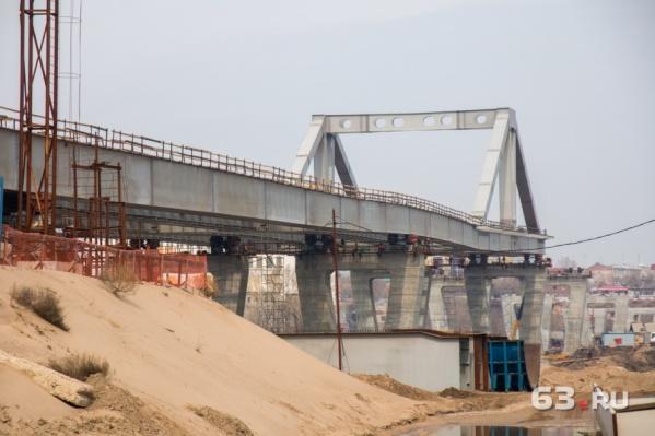Строительство моста планируют завершить в 2019 году