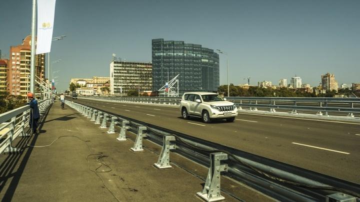 Отремонтированный Ворошиловский мост во всей своей красе: фоторепортаж
