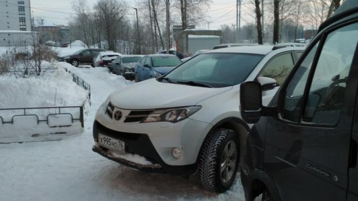 Я паркуюсь, как: будто не ожидал, что наступит зима