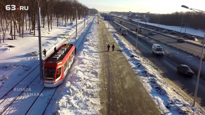 Трамвайной линии до «Самара Арены» не нашли применения после ЧМ-2018