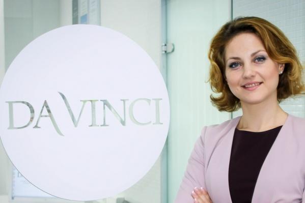 Главный врач стоматологической клиники DaVinci Ольга Гейде