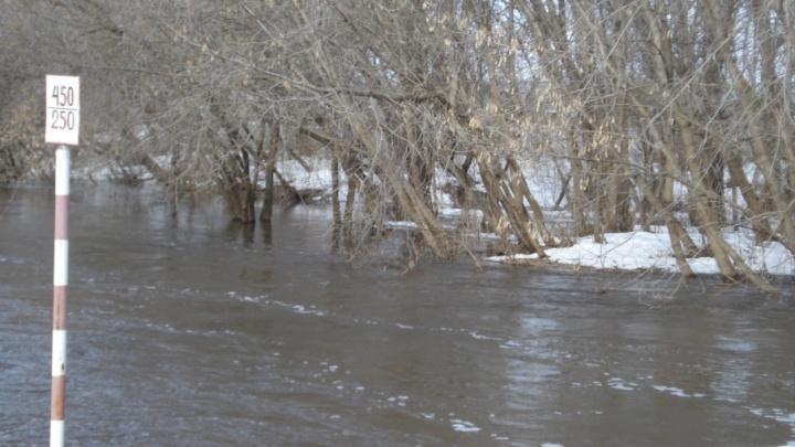 Талые воды подтопили около 100 участков в Самарской области