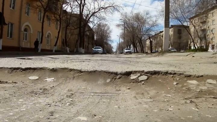 В Волгограде рожениц возят в роддом по 30-сантиметровым ухабам