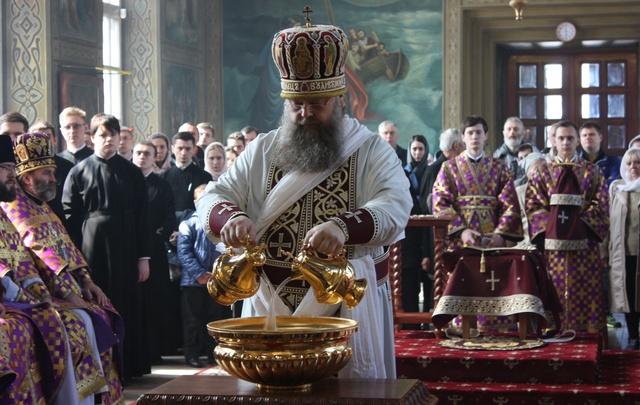 Донской митрополит Меркурий совершил чин омовения ног: фоторепортаж