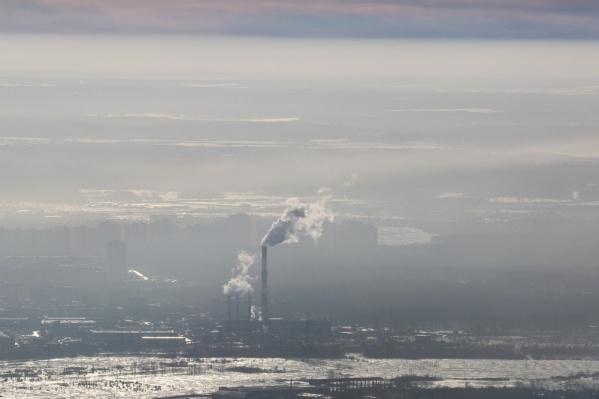 Во время неблагоприятных метеоусловий от предприятий потребовали максимально снизить выбросы