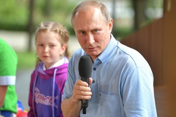 Владимир Путин пообщается с детьми в новом формате